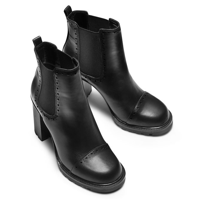 Women's shoes bata, Noir, 791-6181 - 15
