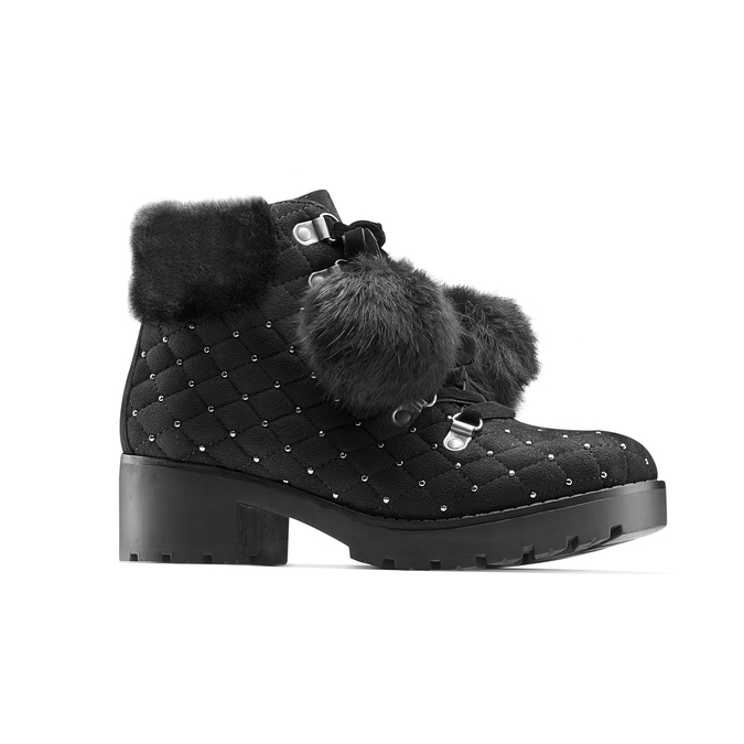Women's shoes bata, Noir, 699-6100 - 13