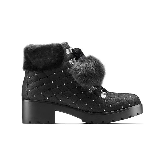 Women's shoes bata, Noir, 699-6100 - 26