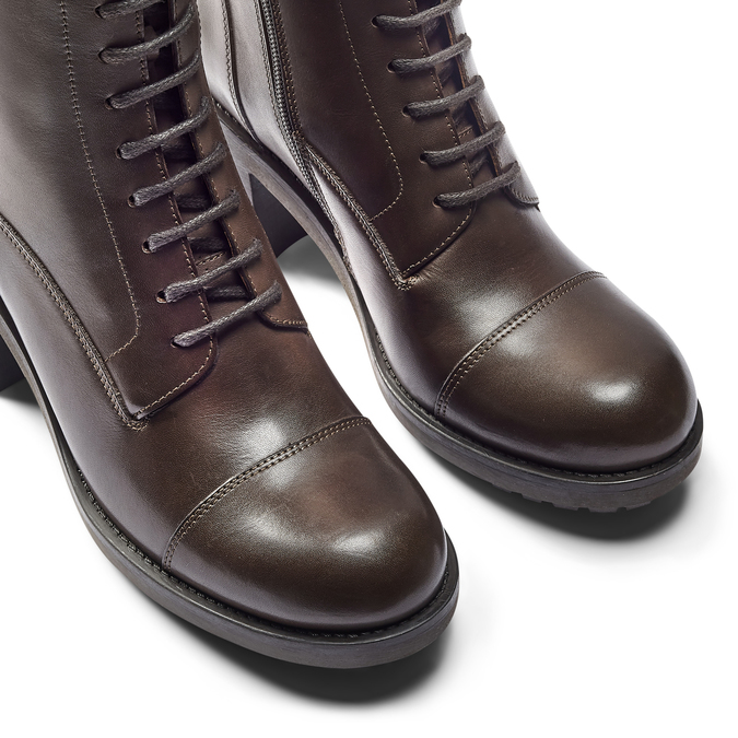 Women's shoes bata, Brun, 794-3706 - 15