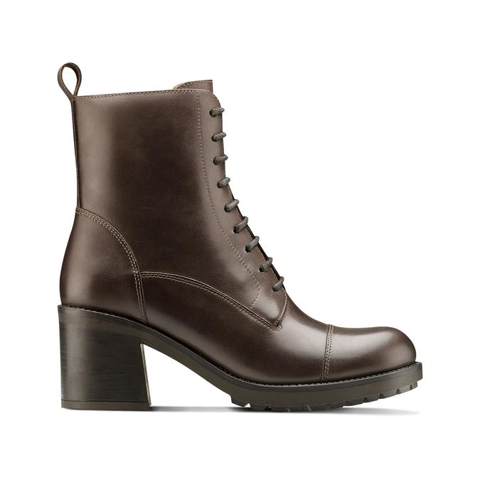 Women's shoes bata, Brun, 794-3706 - 26