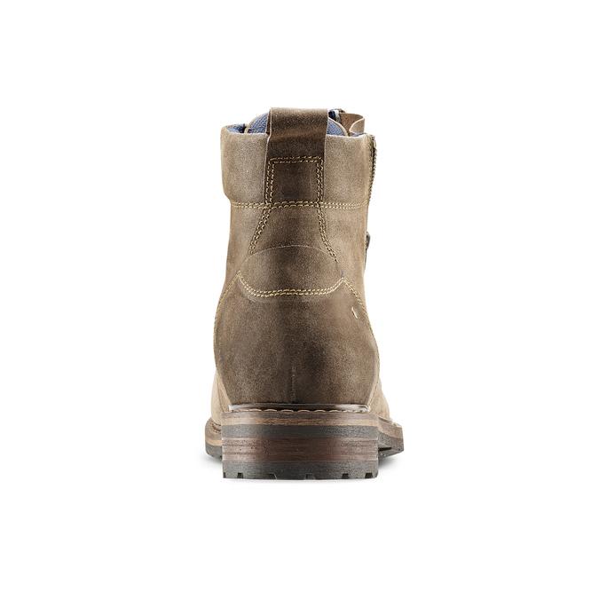 Men's shoes bata, Brun, 893-3137 - 16