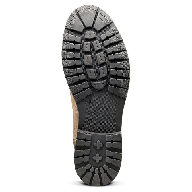 Men's shoes bata, Brun, 893-3137 - 17