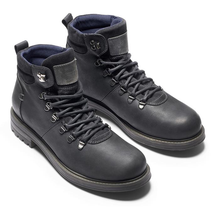 Men's shoes bata, Noir, 894-6136 - 19