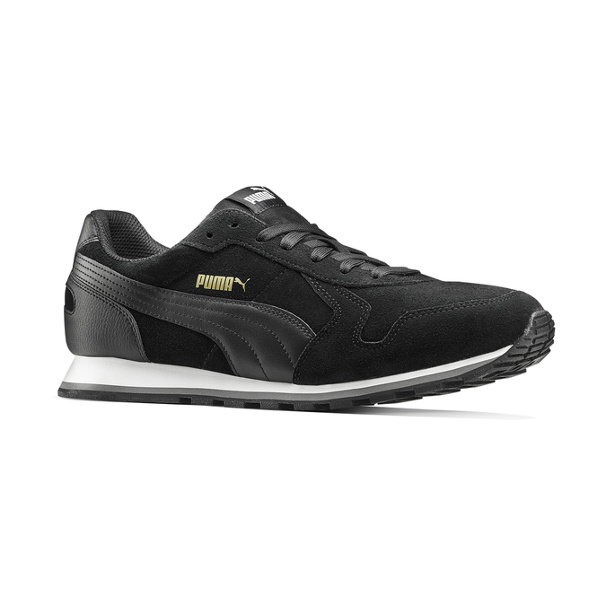 Childrens shoes puma, Noir, 803-6182 - 13