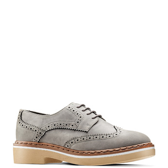 Women's shoes bata, Gris, 529-2277 - 13
