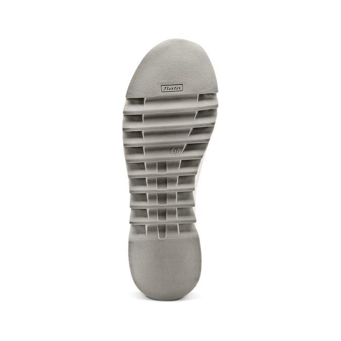 Women's shoes bata, Gris, 549-2207 - 19