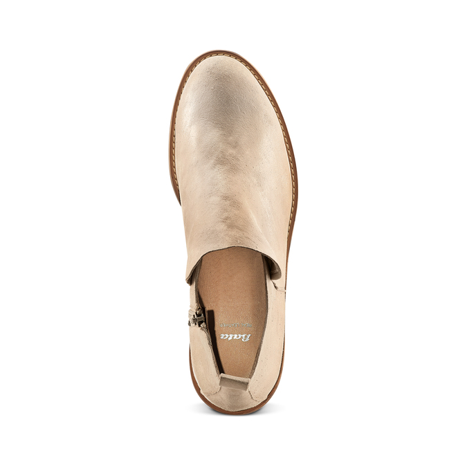 Women's shoes bata, Jaune, 593-8703 - 17