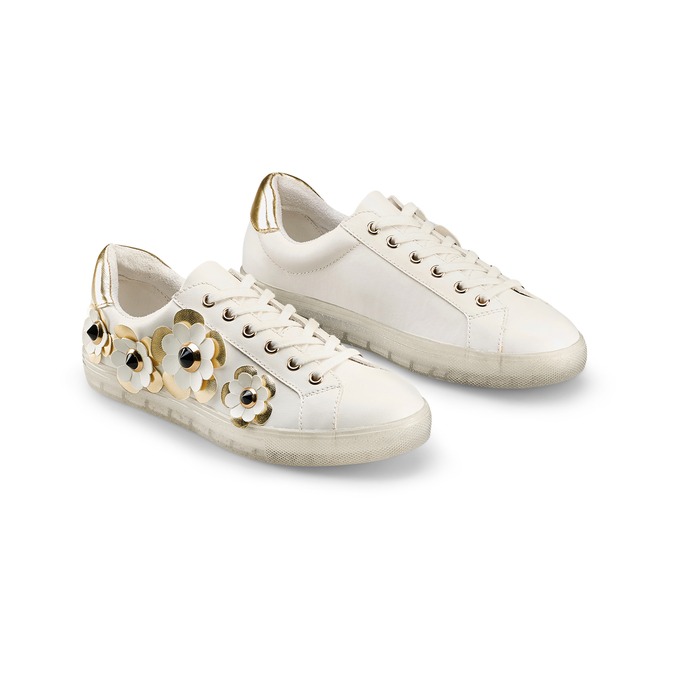 Women's shoes bata, Blanc, 541-1189 - 16