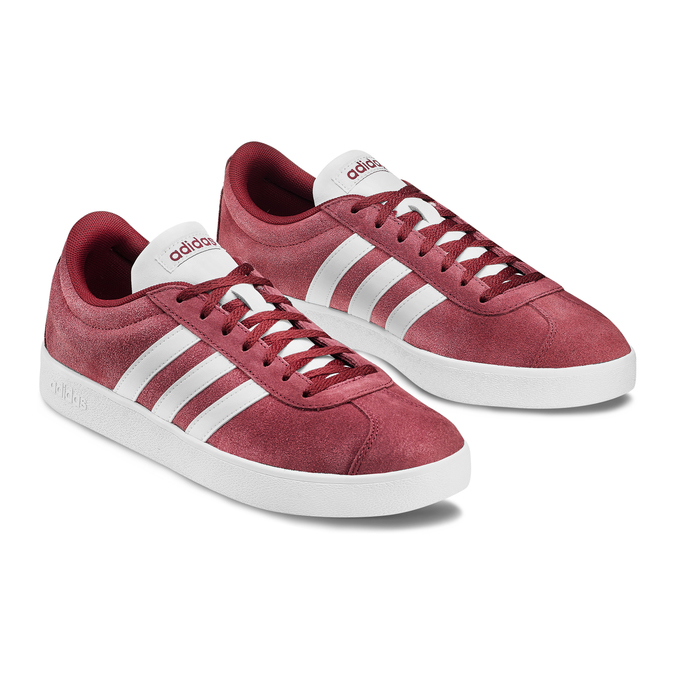Men's shoes adidas, Rouge, 803-5379 - 16