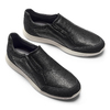 Men's shoes bata-light, Noir, 834-6162 - 19
