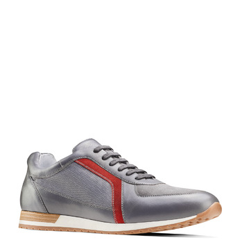 Men's shoes bata, Gris, 844-2142 - 13
