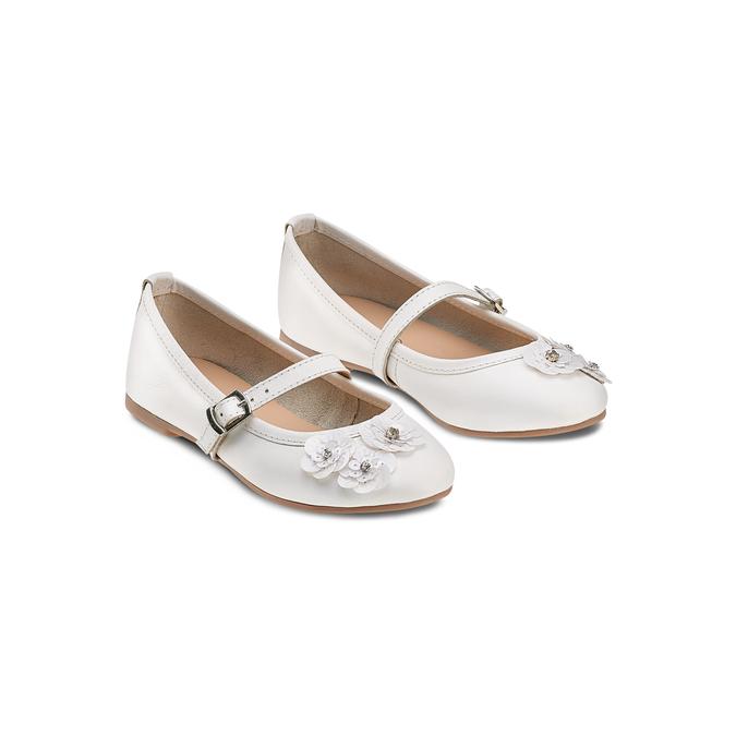Childrens shoes mini-b, Blanc, 324-1253 - 16