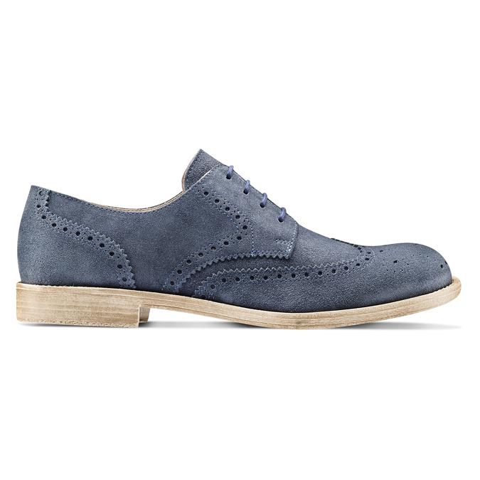 Men's shoes bata, Bleu, 823-9306 - 26