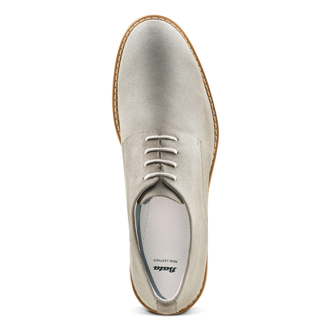 Men's shoes bata, Gris, 823-2307 - 17