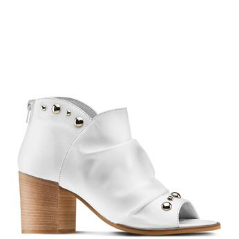 Women's shoes bata, Blanc, 724-2192 - 13