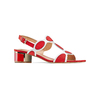 Women's shoes insolia, Rouge, 669-5297 - 13