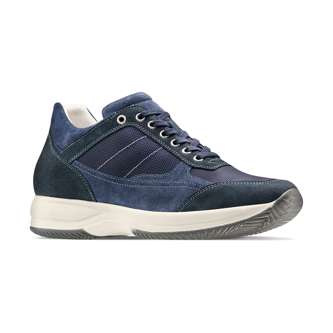 Men's shoes bata, Bleu, 849-9162 - 13
