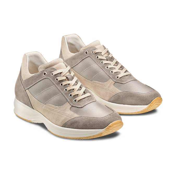 Men's shoes bata, Beige, 849-8162 - 16