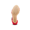 Women's shoes insolia, Rouge, 769-5154 - 19