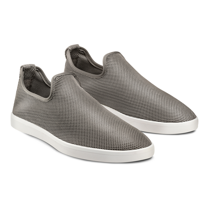 Men's shoes, Gris, 839-2144 - 16