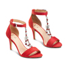 Women's shoes insolia, Rouge, 769-5154 - 16