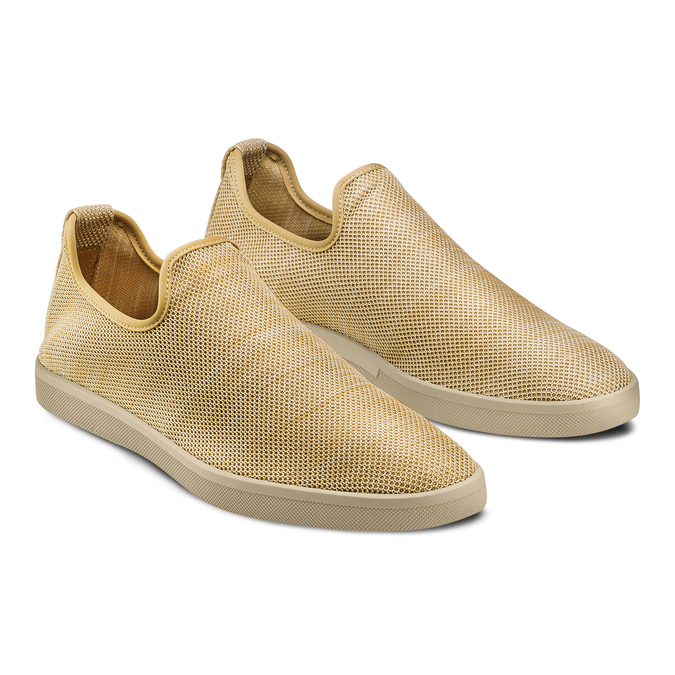 Men's shoes bata-rl, Jaune, 839-8144 - 16