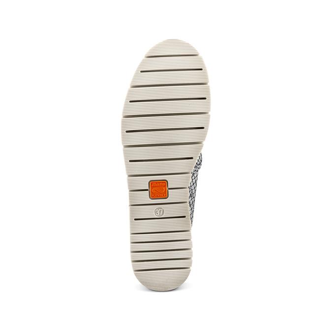 Women's shoes flexible, Blanc, 515-1148 - 19