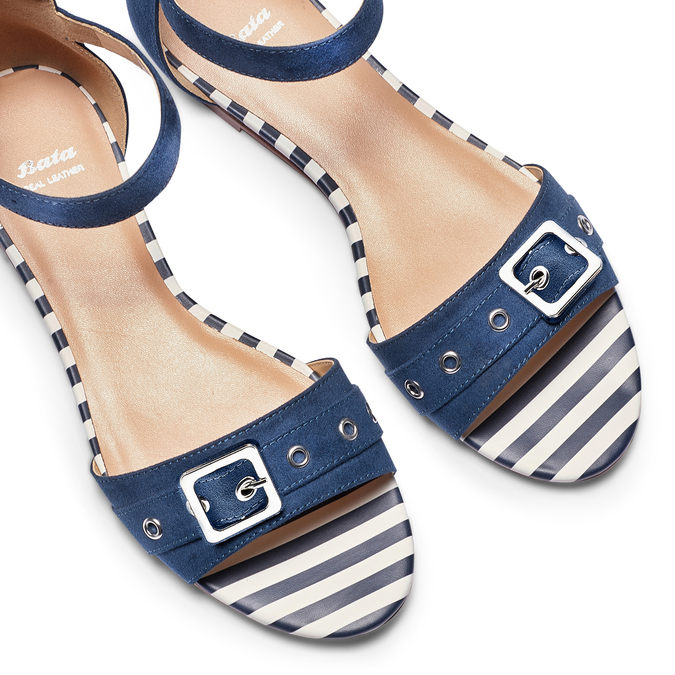 Women's shoes insolia, Bleu, 569-9277 - 26