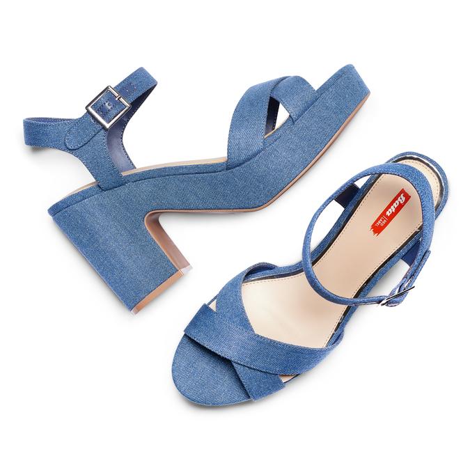 Women's shoes bata-rl, Bleu, 769-9328 - 26