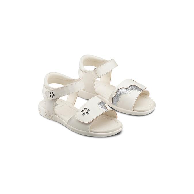Childrens shoes mini-b, Blanc, 261-1144 - 16