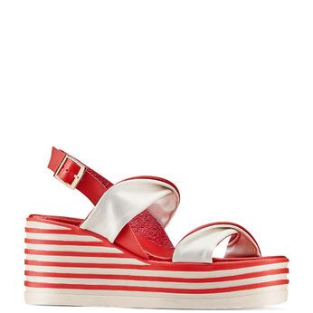 Women's shoes bata, Rouge, 661-5282 - 13