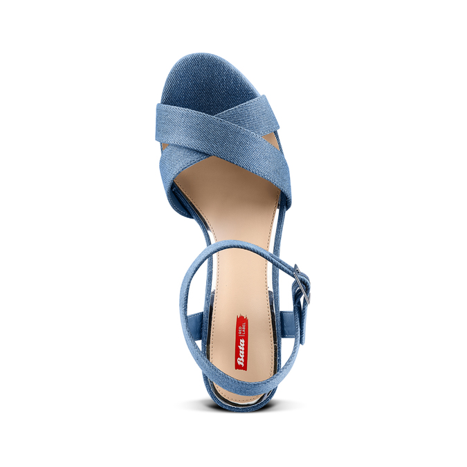 Women's shoes bata-rl, Bleu, 769-9328 - 17