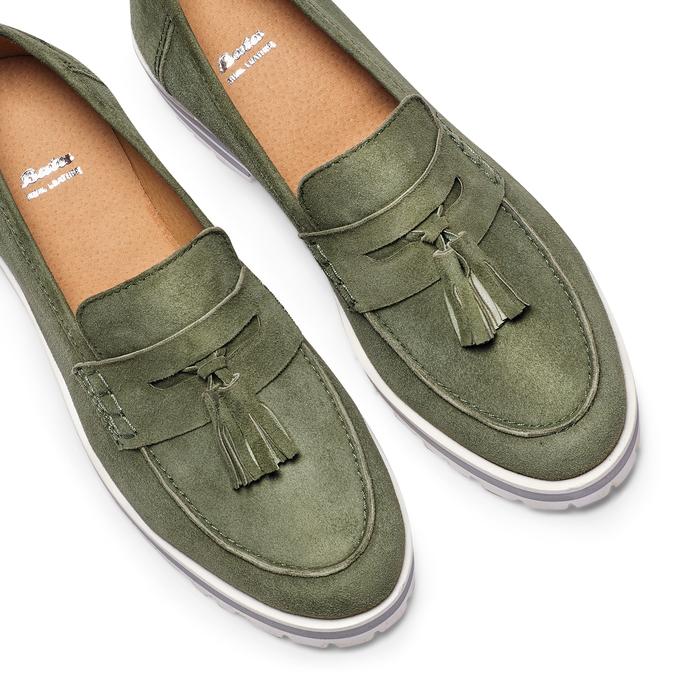 Women's shoes bata, Vert, 513-7182 - 26