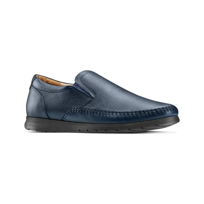Men's shoes comfit, Bleu, 854-9118 - 13
