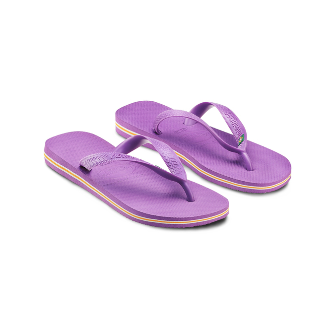 Women's shoes havaianas, Violet, 572-9177 - 16