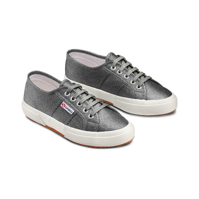 Women's shoes superga, Argent, 589-2487 - 16