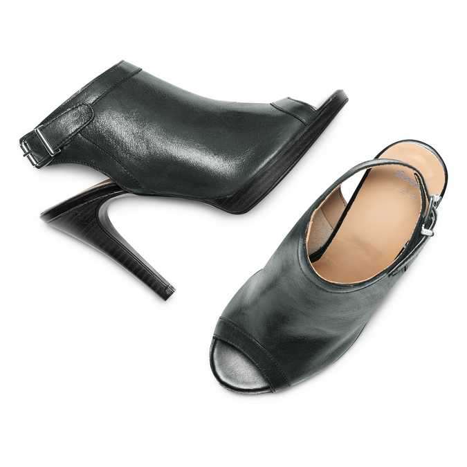 Women's shoes bata, Noir, 724-6187 - 26