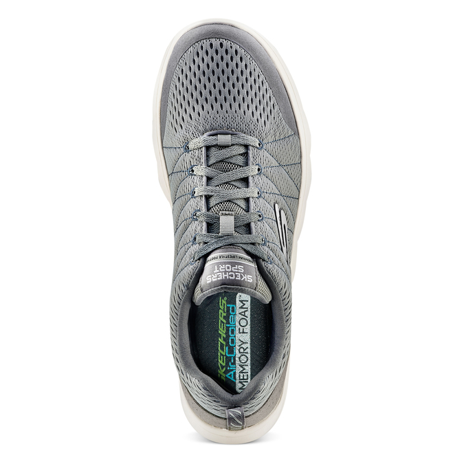 Men's shoes skechers, Gris, 809-2806 - 17