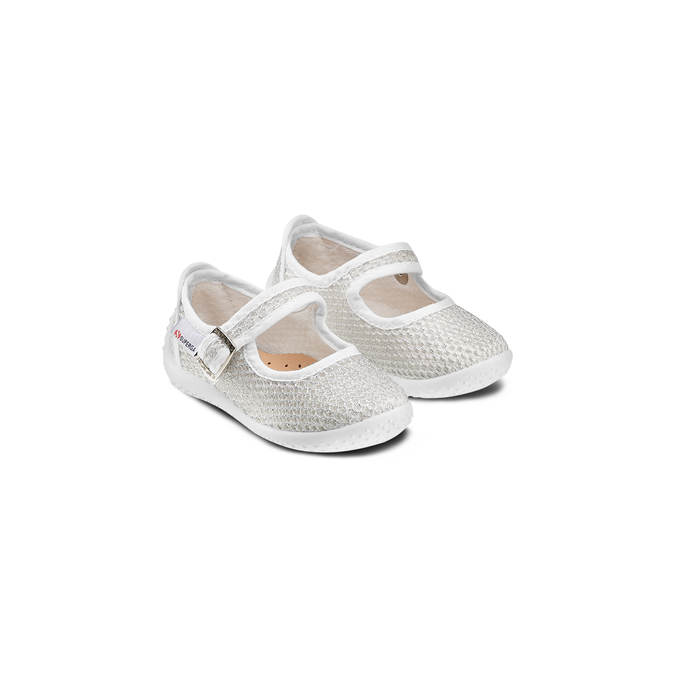 Childrens shoes superga, Blanc, 269-1107 - 16