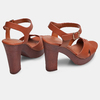 Women's shoes insolia, Brun, 761-3254 - 16