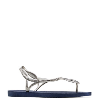 Women's shoes havaianas, Gris, 572-1352 - 13