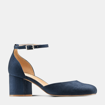 Women's shoes insolia, Bleu, 729-9208 - 13