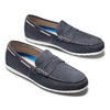 Men's shoes bata, Bleu, 856-9150 - 26