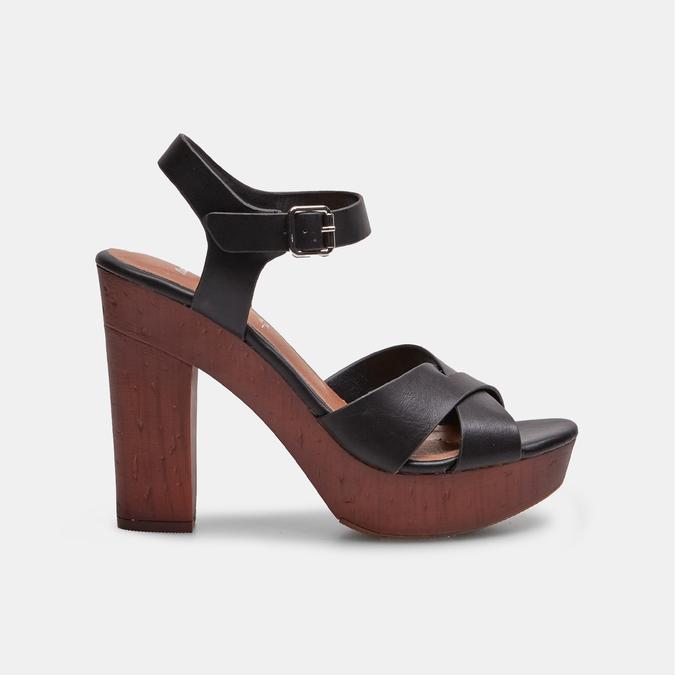 BATA Chaussures Femme insolia, Noir, 761-6254 - 13
