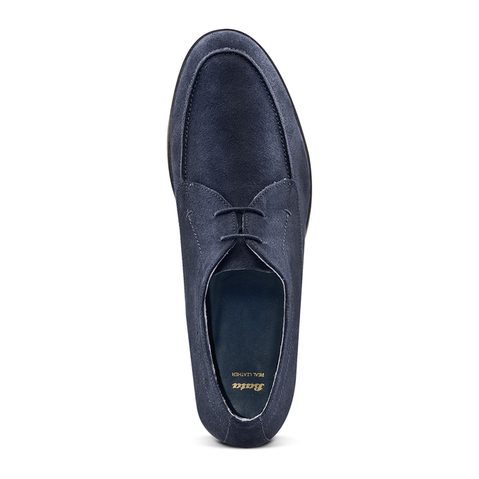 Men's shoes bata, Bleu, 853-9160 - 17