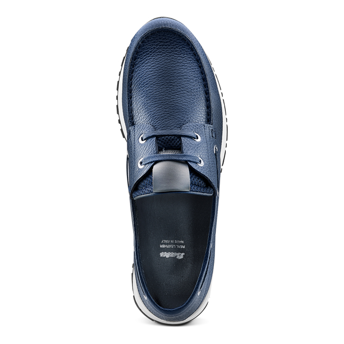 Men's shoes bata, Bleu, 844-9399 - 17