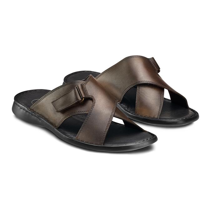 Men's shoes comfit, Brun, 874-4265 - 16