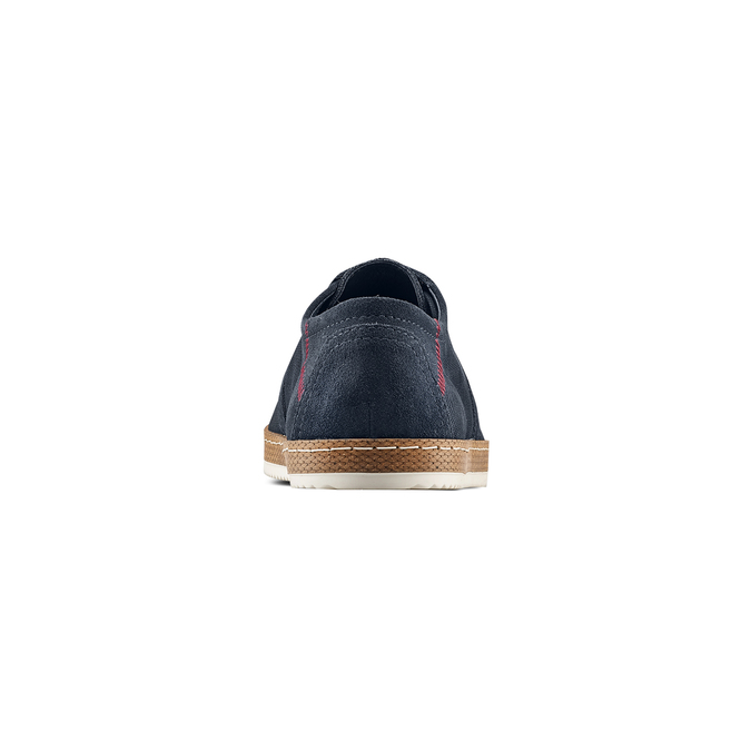Men's shoes bata, Bleu, 853-9201 - 15