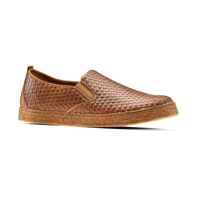 Men's shoes bata, Brun, 851-3187 - 13